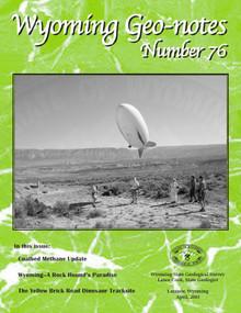 Wyoming Geo-Notes—Number 76 (2003)