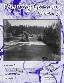 Wyoming Geo-Notes—Number 75 (2002)