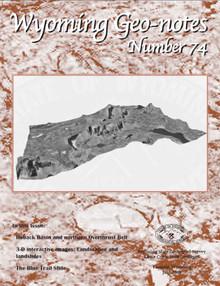 Wyoming Geo-Notes—Number 74 (2002)
