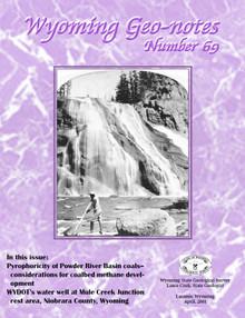 Wyoming Geo-Notes—Number 69 (2000)
