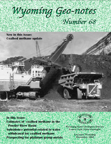 Wyoming Geo-Notes—Number 68 (2000)