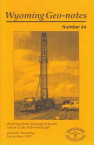 Wyoming Geo-Notes—Number 64 (1999)