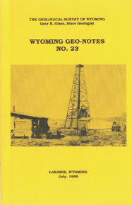 Wyoming Geo-Notes—Number 23 (1989)