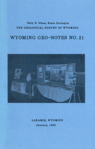 Wyoming Geo-Notes—Number 21 (1989)