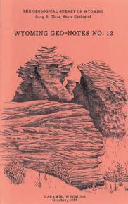 Wyoming Geo-Notes—Number 12 (1986)