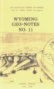 Wyoming Geo-Notes—Number 11 (1986)