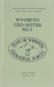 Wyoming Geo-Notes—Number 5 (1984)