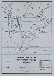 Geologic Map of the Cottonwood Tunnel District