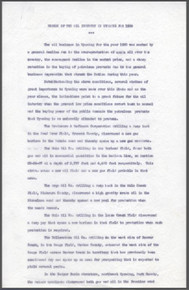 Resume of the Oil Industry in Wyoming for 1930 (no date)