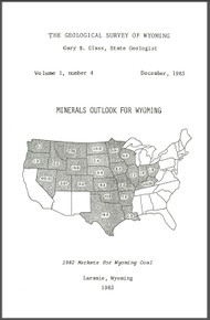 Minerals Outlook for Wyoming, December, 1983