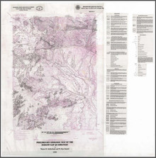 Preliminary Geologic Map of the Barlow Gap Quadrangle (1999)