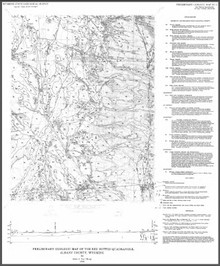 Preliminary Geologic Map of the Red Buttes Quadrangle, Albany County, Wyoming (1995)