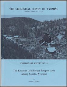 Keystone Gold-Copper Prospect Area, Albany County, Wyoming (1965)
