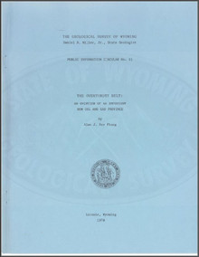 Overthrust Belt: An Overview of an Important New Oil and Gas Province (1979)