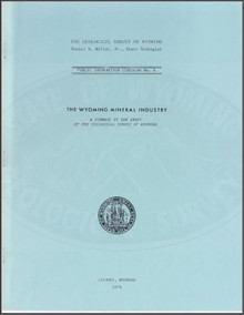 Wyoming Mineral Industry (1978)