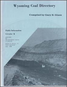 Wyoming Coal Directory (1976)