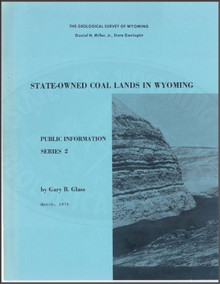 State-Owned Coal Lands in Wyoming (1976)