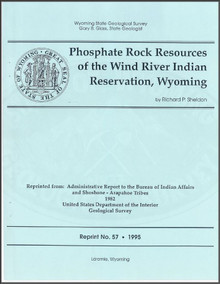 Phosphate Rock Resources of the Wind River Indian Reservation, Wyoming (1995)