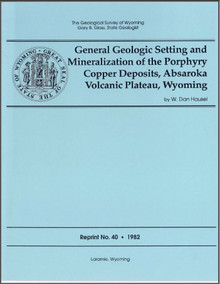 General Geologic Setting and Mineralization of the Porphyry Copper Deposits, Absaroka Volcanic Plateau, Wyoming (1982)