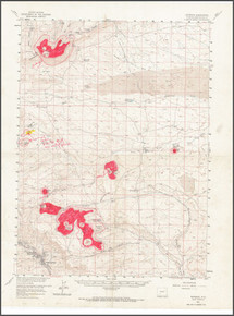 Sketch Maps of the Leucite Hills, Wyoming (1978)