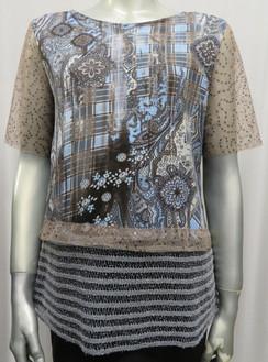 Style # F 511 Bronze mesh top