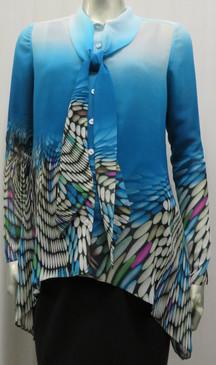 Style # 547 Chiffon print shirt