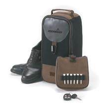 Angolan Leather Shoe Bag
