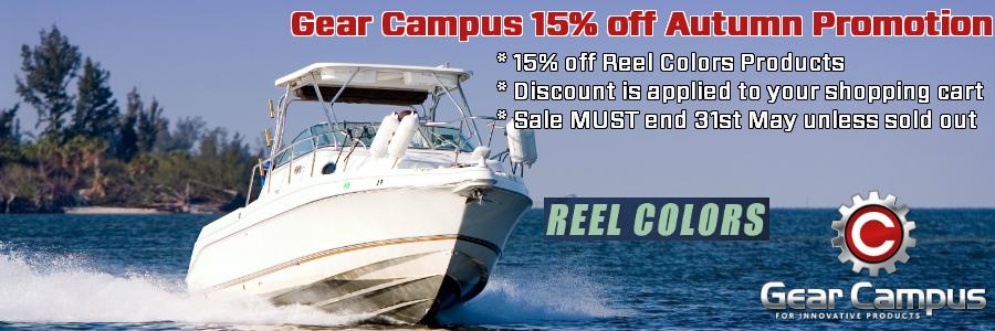 Gear Campus 15% off Reel Colors Autumn Promotion