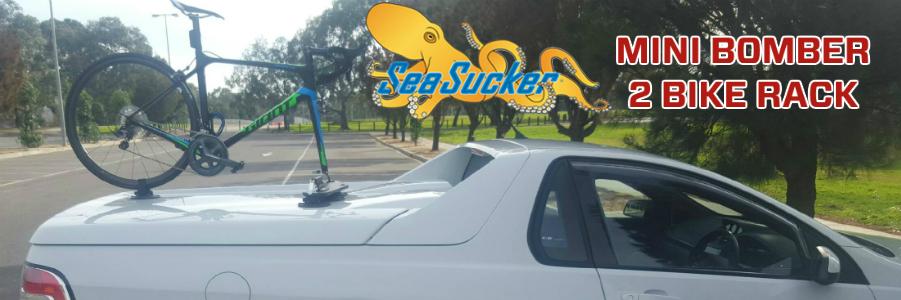 SeaSucker Mini Bomber on HSV Ute
