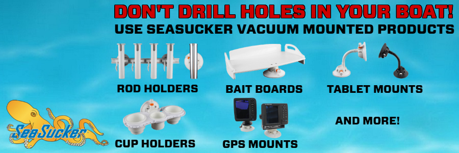 SeaSucker Don't Drill Your Boat Promotion