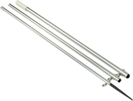 Lee's AO8712CR - 12ft Center Rigger Bright Silver Poles MKII