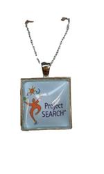Logo Pendant Necklace