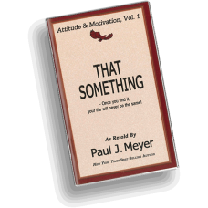 Attitude and Motivation, Vol. 1 - That Something (pack of 10 booklets)