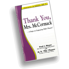 Character and Values, Vol. 2 - Thank You, Mrs. McCormack (pack of 10 booklets)