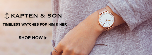 Shop Kapten & Son Watches