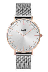 Cluse La Boheme Mesh Rose Gold/Silver Womens Mesh Watch CL18116