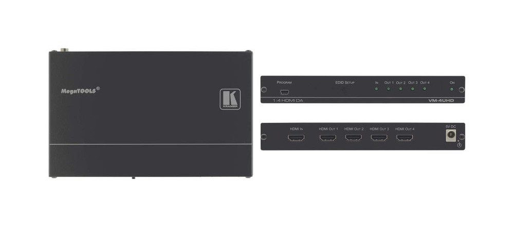 Kramer VM-4UHD HDMI Distribution Amplifier (VM-4UHD)