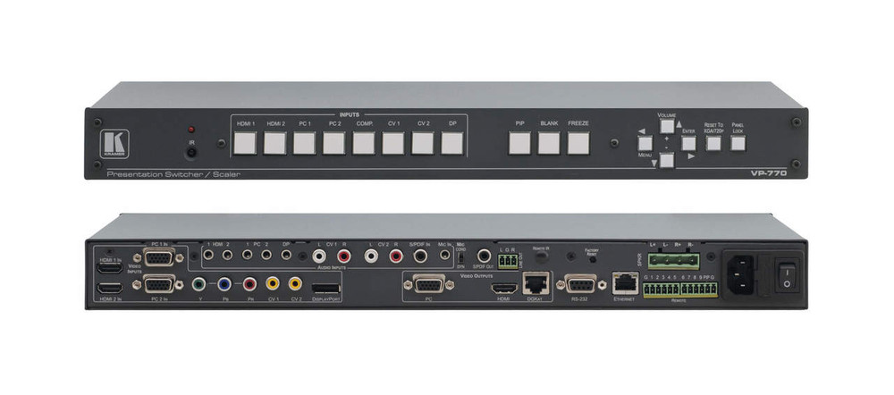 Kramer VP-770 Presentation switcher scaler (VP-770)