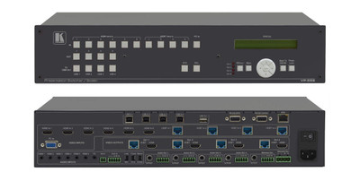 Kramer VP-558 boardroom switcher scaler (VP-558)