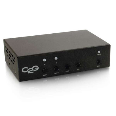 HDBaseT Over Cat5 Extender Receiver - Scaler/De-embedder