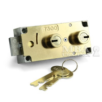 SD 7300 DLN W/KEYS SET TO 908    BRASS ONLY