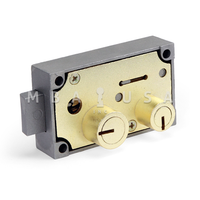 175-05 RIGHT-HAND SAFE DEPOSIT LOCK (BLUEGRASS LOCKS)