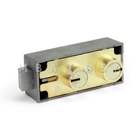 5700 BRASS FINISH SAFE DEPOSIT LOCK (BLUEGRASS LOCKS)
