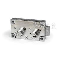 MILES X4 LEFT HAND SAFE DEPOSIT LOCK (BLUEGRASS LOCKS)