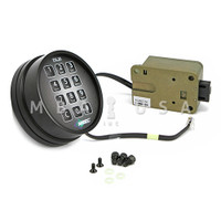 AMSEC ESL/20 XL SLAMBOLT LOCK W/ MATTE BLACK KEYPAD