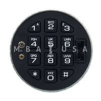 LAGARD 3125 LOW PROFILE KEYPAD WITH E-KEY (66E)