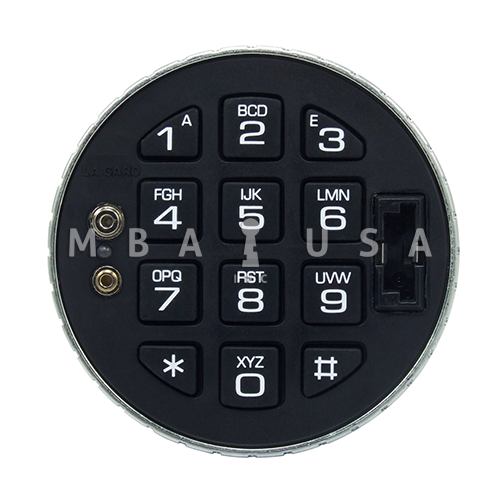 lagard 3125 low profile keypad with e key 66e mba usa inc. Black Bedroom Furniture Sets. Home Design Ideas