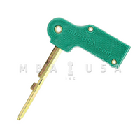 U12 TYPE 4-WHEEL CHANGE KEY W/HANDLE-GREEN