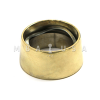 BRASS PLATED - LONG CYLINDER GUARD US3