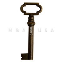 FURNITURE KEY BRONZED - 40mm 8x8